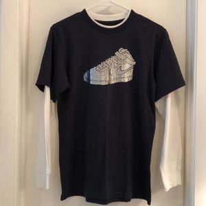 Nike Air Force One Graphic Tee Size Large